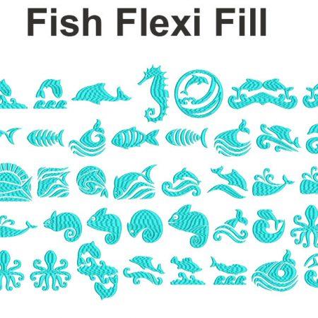 fish flexi fill esa font