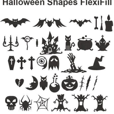 Halloween Shapes Flexi Fill icon