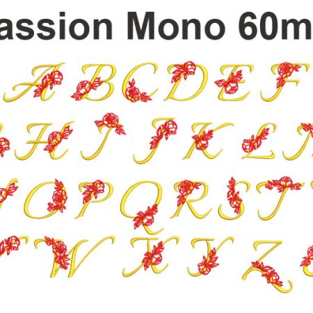 passion monogram esa font icon